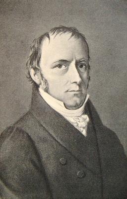 Portrait von Johann Friedrich Trechsel