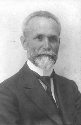 Portrait von Gottlieb Huber